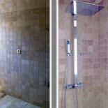 Rénovation salle de bain faïence et douche